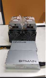 Antminer S9 13.5TH 2Month warranty+ Power Supply- SGD 1499