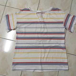 [OFFER] Colorful line Shirt