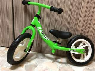 Green Kinderbike (excellent condition)