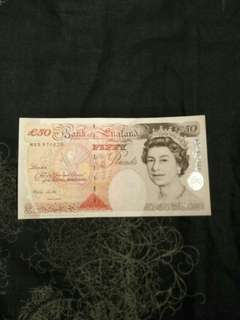 9pc 50 pounds of great britain 9pc offer sg $1388