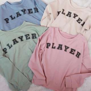 PLAYER SWEATER #mausupreme
