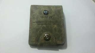 全新BMW wallet真皮銀包(合父親節禮物)