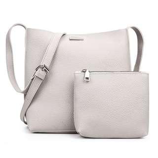 GRIMO 2 in 1 Shoulder Bags Marble Stone Handbag Sling Bag Tote Beg