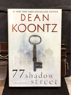 # Novel《Bran-New + Hardcover Edition + Sci-Fi Horror Fiction》Deen Koontz - 77 SHADOW STREET
