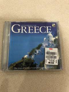 Cd box C8 -Greece