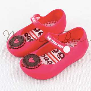 Biscuit Heart Kid Scented Jelly Shoes