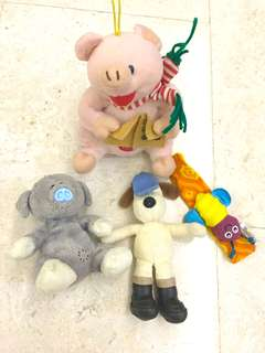 3 for RM 5 Soft Toys (Bears)