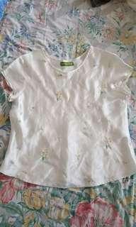 Bebe silk top