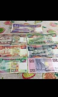 Old Singapore currency
