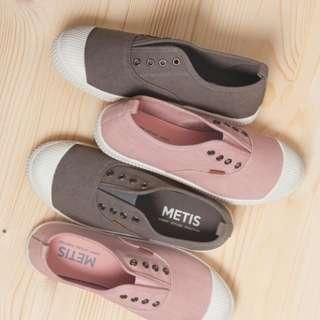 !!!!限時特價!!!! [ METIS ] 帆布懶人鞋(親子款)
