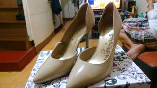 Payless Nude shoes