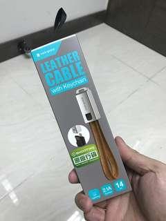 行貨一年保養 Rock 皮帶USB iPhone 充電線