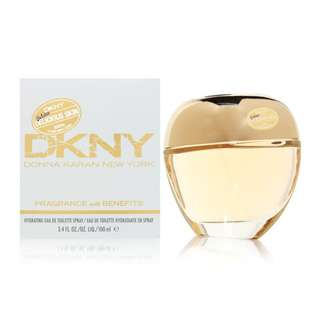 DKNY GOLDEN DELICIOUS SKIN FRAGRANCE WITH BENEFITS HYDRATING EDT FOR WOMEN 100ML