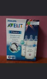 AVENT BOTTLE X3 ( 9oz / 260 ml )