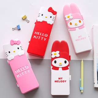 BMT549 - Hello Kitty / My Melody Simple Plastic Pencil Case