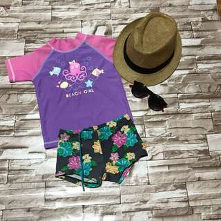 Set swimwear for girls (2-3 years)