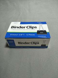 Binder Clips size 41mm - Brand new