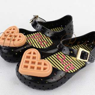 Heart Waffle Kid Scented Jelly Shoes