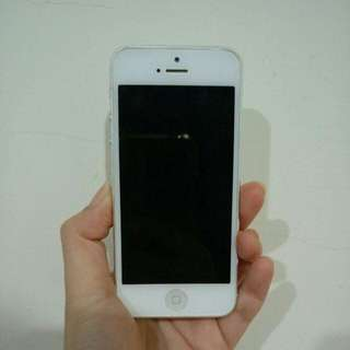 🚚 iphone 5 銀 32gb