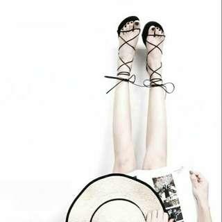 🚚 韓國綁帶羅馬涼鞋