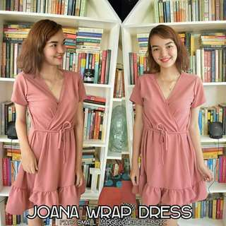 Joana wrap dress