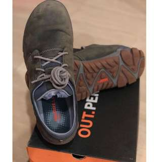 Merrell All Out Blazer Lace Leather Casual Shoe