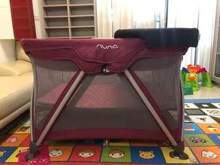 荷蘭Nanu嬰兒床+換尿布床墊