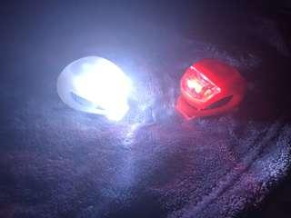 silicone bicycle LED light