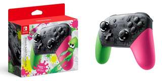 🚚 *SALE BNIB Pro Controller Splatoon Limited Edition Nintendo Switch