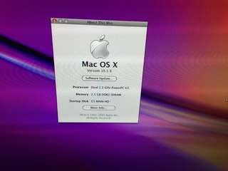 MAC G5 good working condition