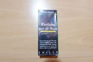 Shills purifying peel off mask