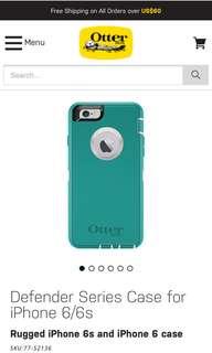 iPhone 6/6S Otterbox Phone Case (Defender Series)