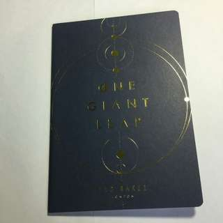TED BAKER - ONE GIANT LEAP NOTEBOOK