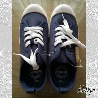 Shoopen Canvas Shoes-Navy ❤