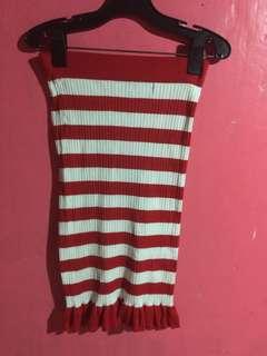 Striped skirtxtube