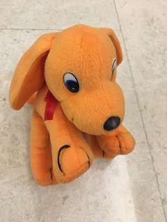 Soft Toy (Orange Pup)