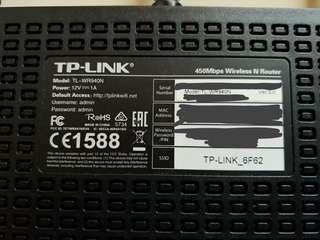TP LINK ROUTER 路由器 TL-WR940N 450Mbp