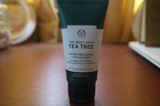 Tea tree, mattifying lotion
