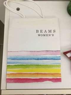 BEAMS Women's 紙袋