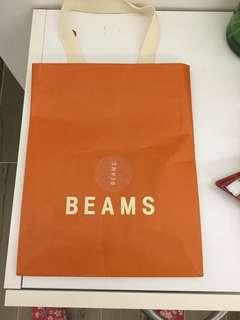 BEAMS紙袋