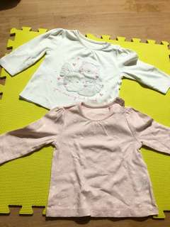 PL Mothercare Cotton Blouse - 9 to 12 mos