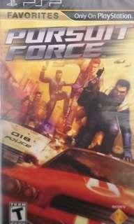 New/Sealed PSP UMD Pursuit Force