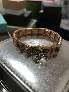 [購自日本]玫瑰金手帶