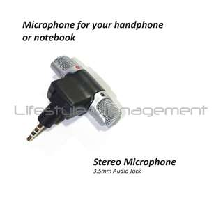 Mini Microphone Voice Recorder Computer/Camera/Notebook/Phone