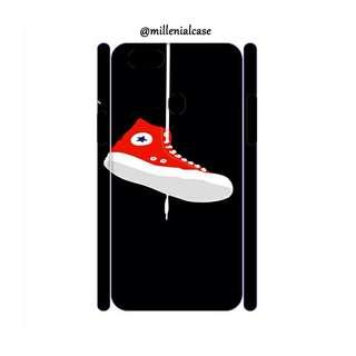 Premium converse red hard/softcase(bs custom)