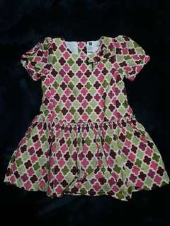 BABY GAP Pattern Dress