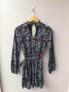 H&M CHOKER DRESS SMALL