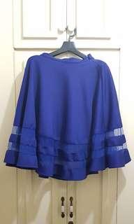 Royal Blue Skirt (L)