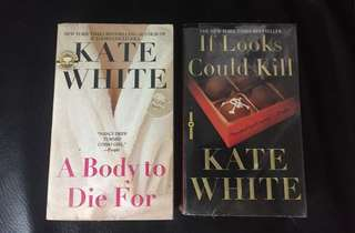 Kate White Book Bundle