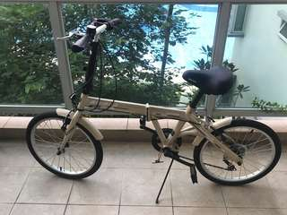 (RESERVED) Foldable Bicycle, Aloeca
